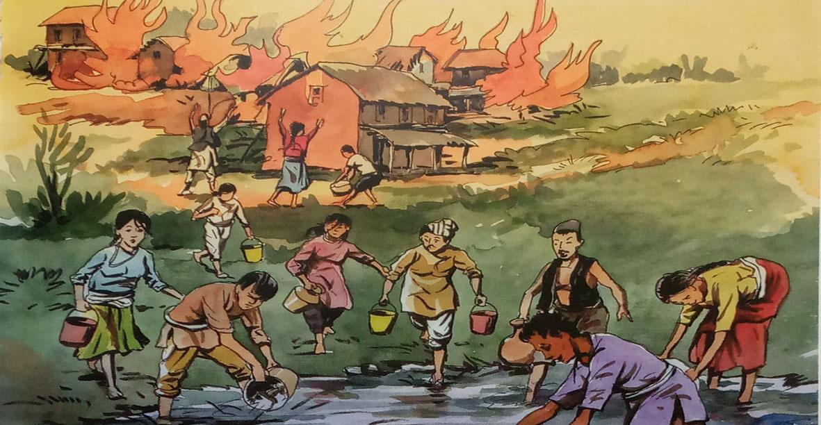 पानीकाे घर- सुन्ने कथा (पाेडकास्ट)